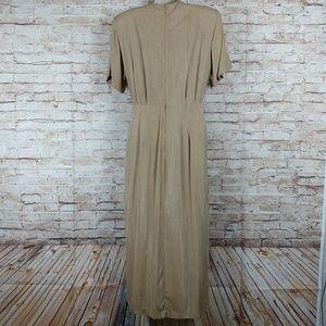 Scarlett Beige Size 7-8 Dress embellished front